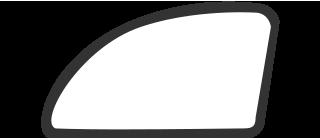 Боковое стекло передней левой двери на Chrysler Voyager